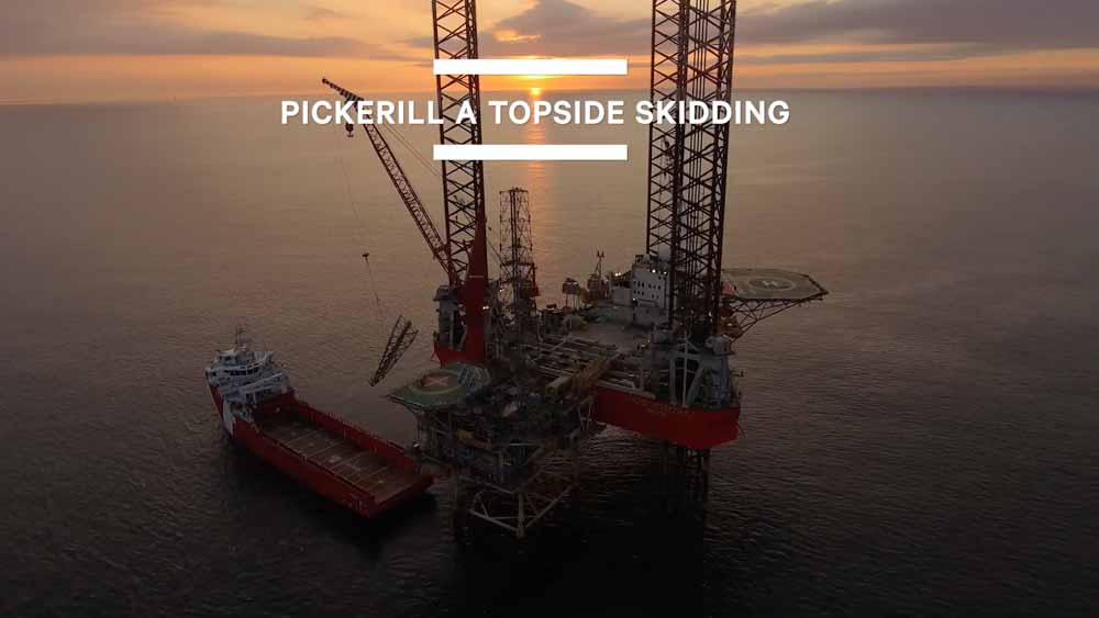PICKERILL A TOPSIDE REMOVAL
