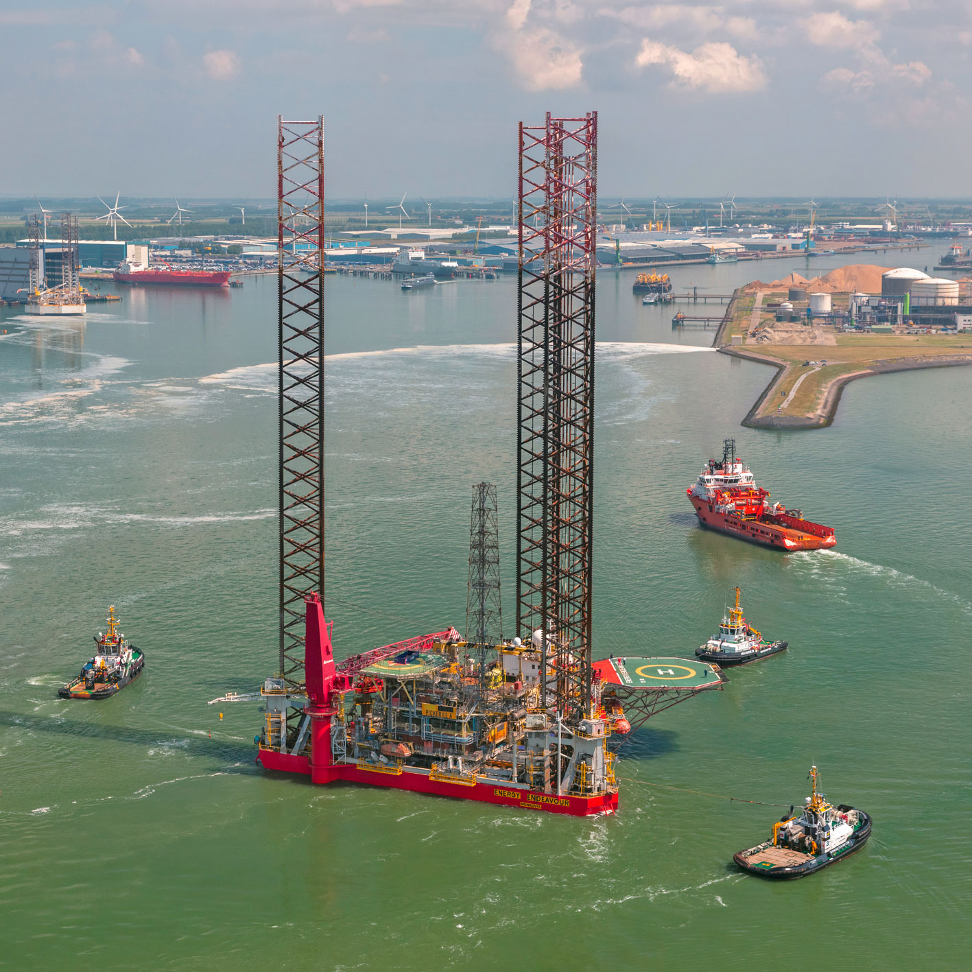 completion topside skidding new petrodec decommissioning